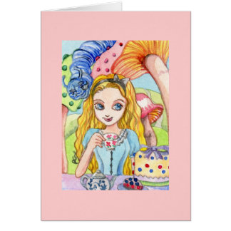 Tea Party with Alice Card