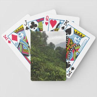 Tea Plantation Bicycle Playing Cards