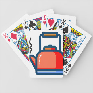 Tea Pot Bicycle Playing Cards