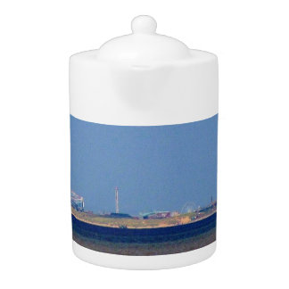 TEA POT: BLACKPOOL FROM SOUTHPORT