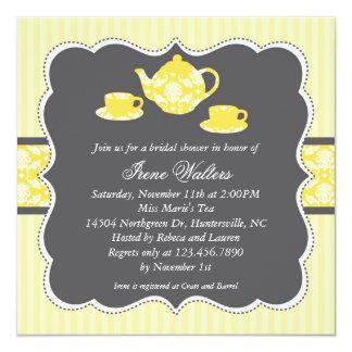Tea Pot Bridal Shower Invitation
