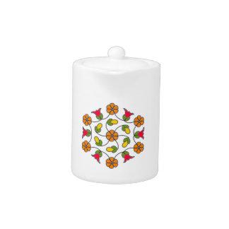 Tea pot-Flower Series#63