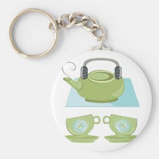 Tea Pot Keychain