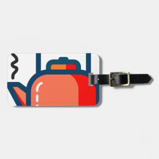 Tea Pot Luggage Tag