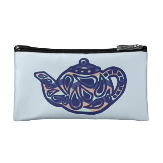 Tea Pot Makeup Bag