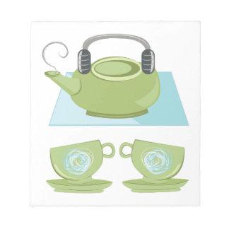 Tea Pot Notepad