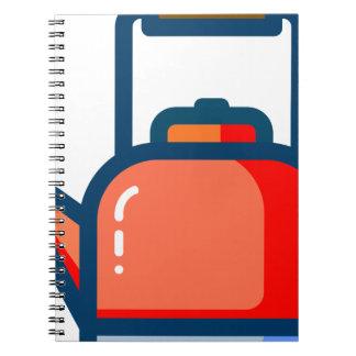 Tea Pot Spiral Notebook