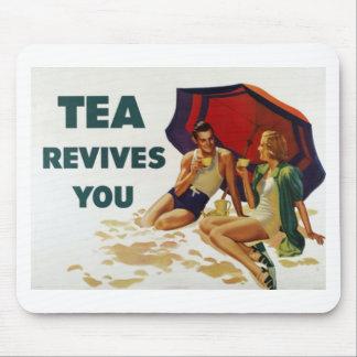 Tea Revives You Mouse Pad