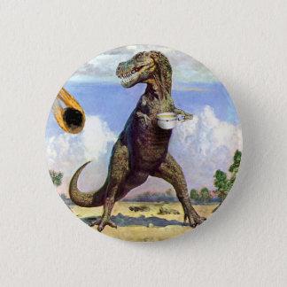 Tea Rex 2 Inch Round Button