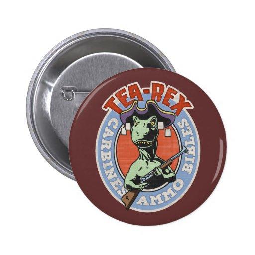 Tea-Rex Pins