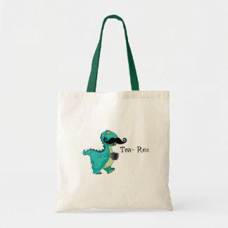 Tea- Rex Funny Dinosaur Cartoon Innuendo