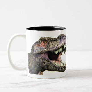 Tea Rex -  Two-Tone Mug