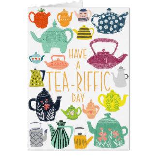 Tea-riffic Card