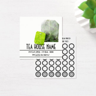 tea stamp card