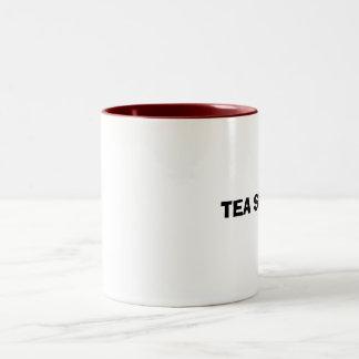 TEA SUCKS Two-Tone COFFEE MUG