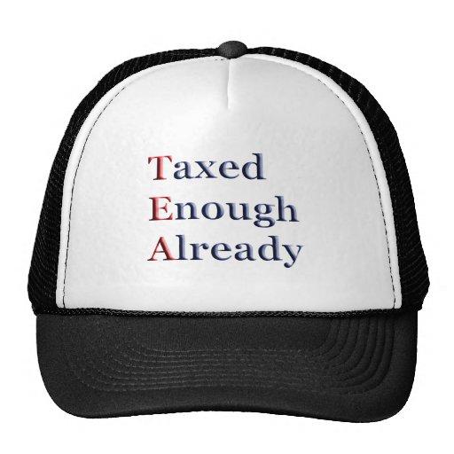 TEA - Taxed Enough Already Hat
