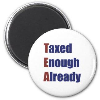 TEA - Taxed Enough Already Fridge Magnets