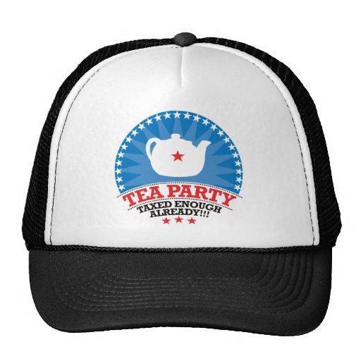 TEA, Taxed Enough Already Party Hat