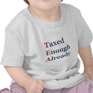 TEA - Taxed Enough Already T Shirts
