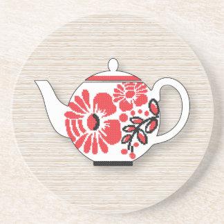 Tea teapots coaster