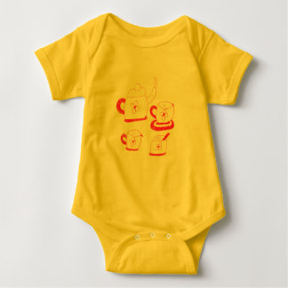 Tea Time Babies Jersey Bodysuit