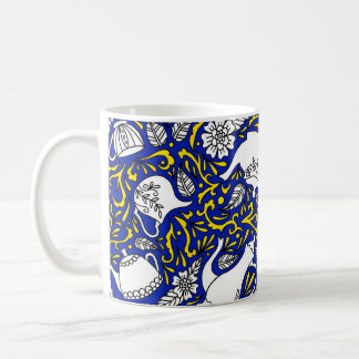Tea Time Blue Coffee Mug