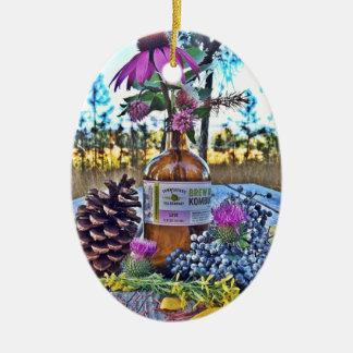 Tea Time Ceramic Ornament