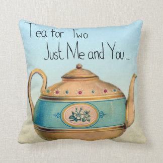 Tea Time Decorator Pillow