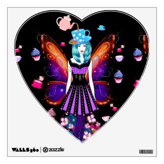 Tea-Time Fairy Wall Sticker