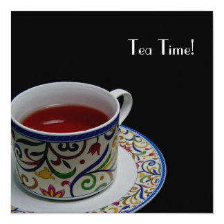 Tea Time! Invitation