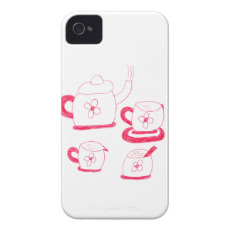 Tea Time iPhone 4/4S Case-Mate Barely There