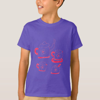 Tea Time Kids' Hanes TAGLESS® T-Shirt