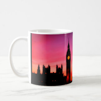 Tea time, London city view Coffee Mug