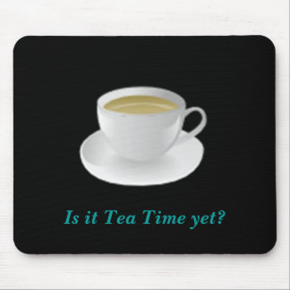 Tea Time mousepad