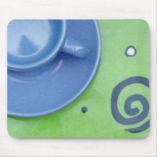 Tea time mouse pad
