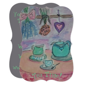 Tea-Time Party! Card