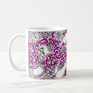 Tea Time Pink Coffee Mug