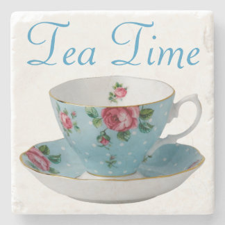 Tea Time Stone Coaster