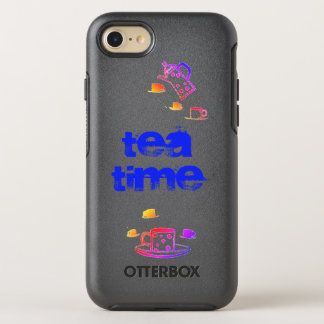 Tea Time Sunset Edition iPhone Case
