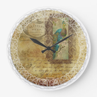 Tea-time Victorian Clock