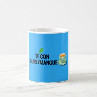 Tea with curlymangue coffee mug