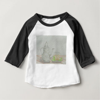 tea with mint baby T-Shirt