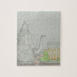 tea with mint jigsaw puzzle