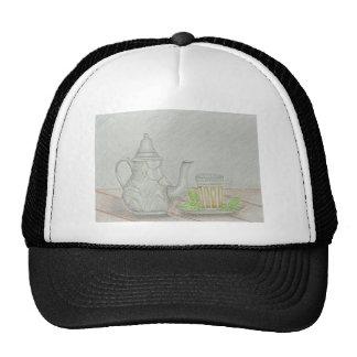 tea with mint trucker hat