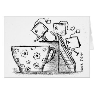 Teabags -- Note Card