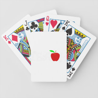 teach2 bicycle playing cards