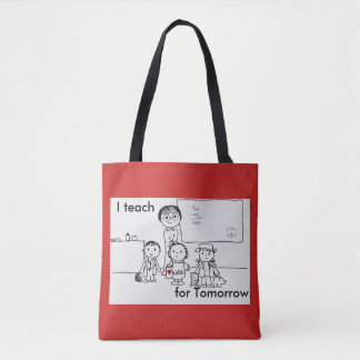 Teach for Tomorrow tote