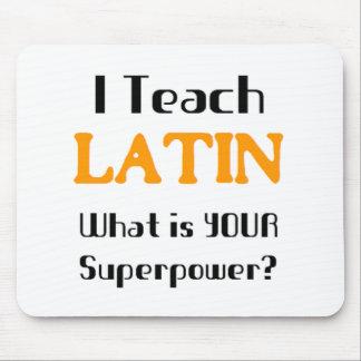 Teach Latin Mouse Pad
