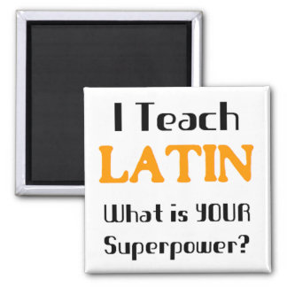 Teach Latin Square Magnet