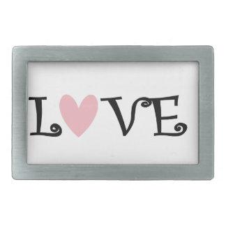 teach love inspire belt buckle